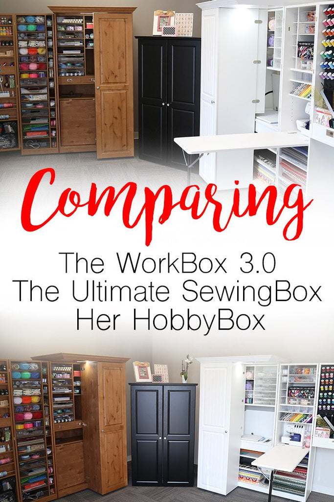 Comparing The WorkBox 3.0 vs The Ultimate SewingBox vs Her HobbyBox