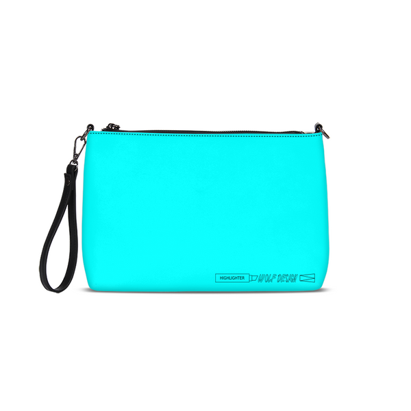 highlighter blue Daily Zip Pouch