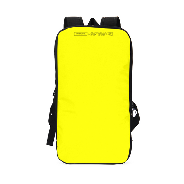 highlighter yellow Slim Tech Backpack
