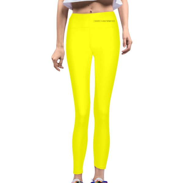 highlighter yellow Women's Yoga Pant