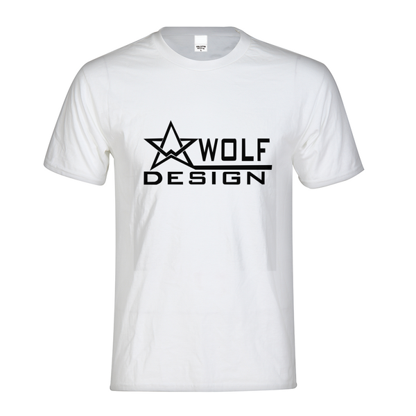 wolf design star Men's Graphic Tee