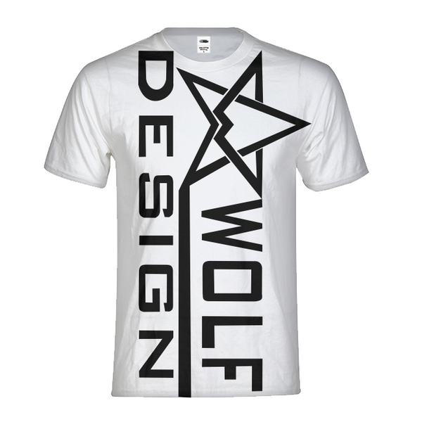 wolf design star Men's Tee
