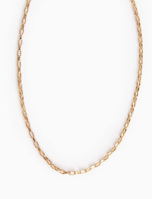 Balance Box Gold Plated Chain Necklace By Thirty One Bits