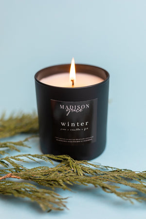 """Winter"" Eco Chic Candle"