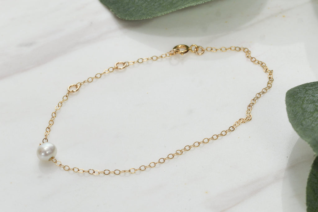 Tayo 14K Gold Plated Pearl Bracelet