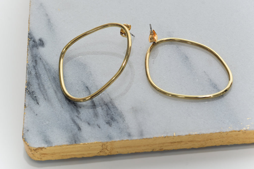 Audrey Outline Hoops