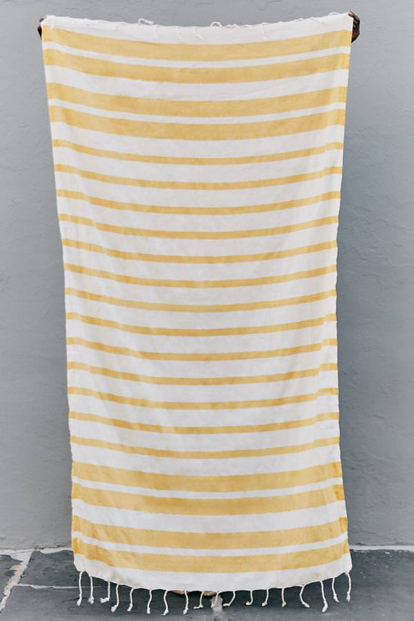The Charleston Towel -  Golden Pineapple