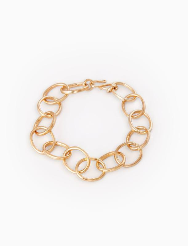 Interlocking Hoops Bracelet by Thirty One Bits