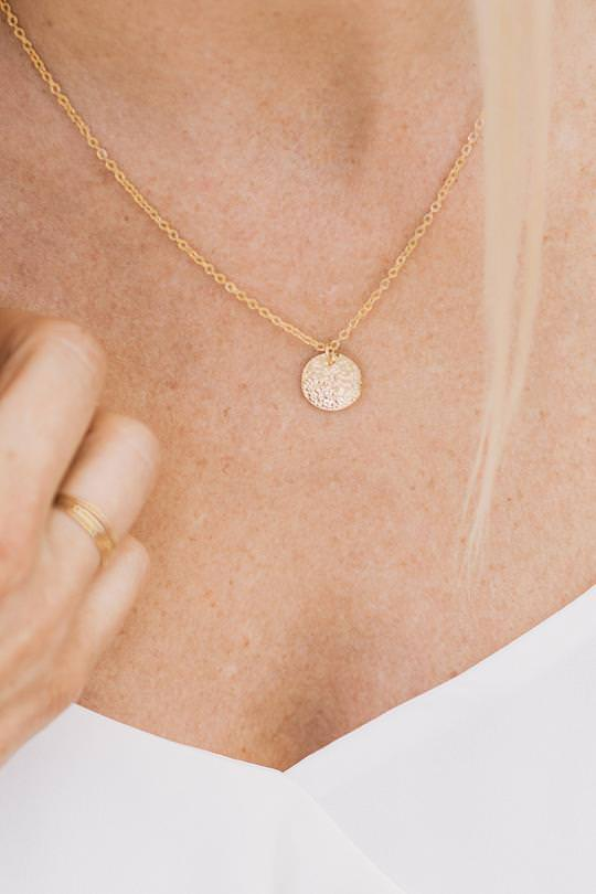 Coin Necklace By Purpose Jewelry