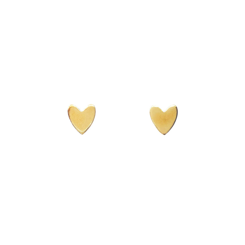 Miracle Heart Studs by Purpose Jewelry