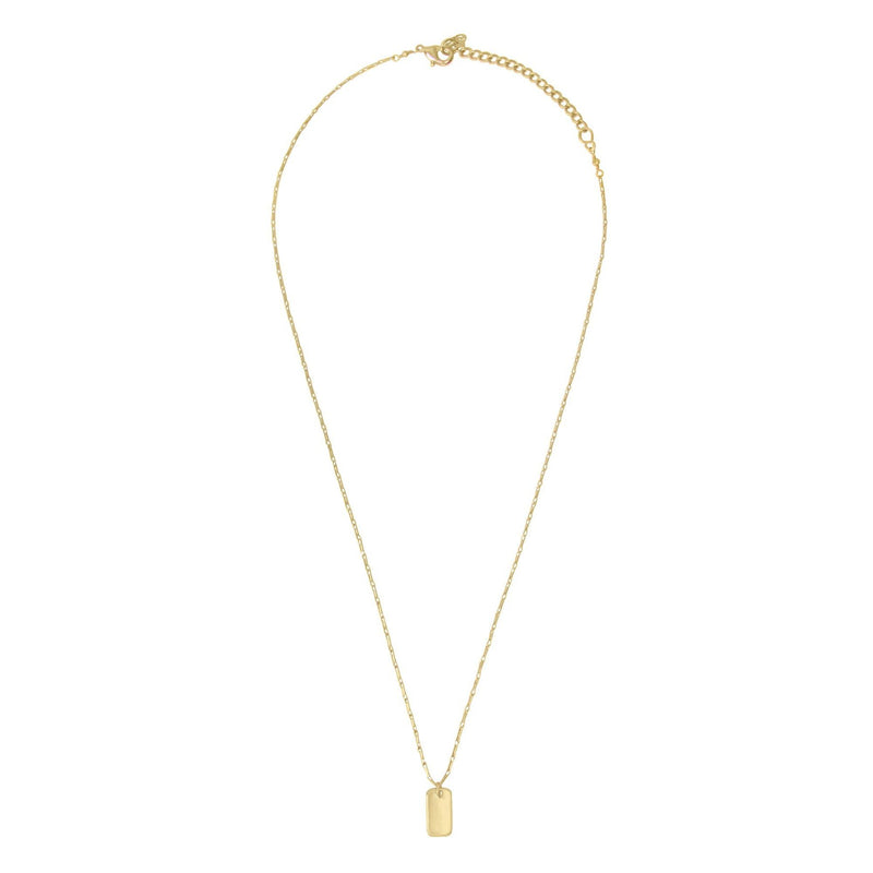 Studio Necklace Gold by Purpose Jewelry