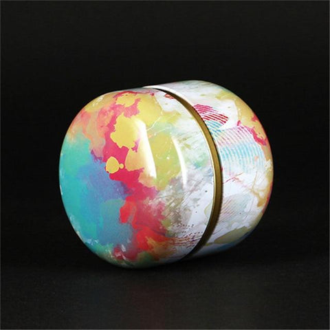 boite-a-the-japonaise-en-metal-ronde-multicolore