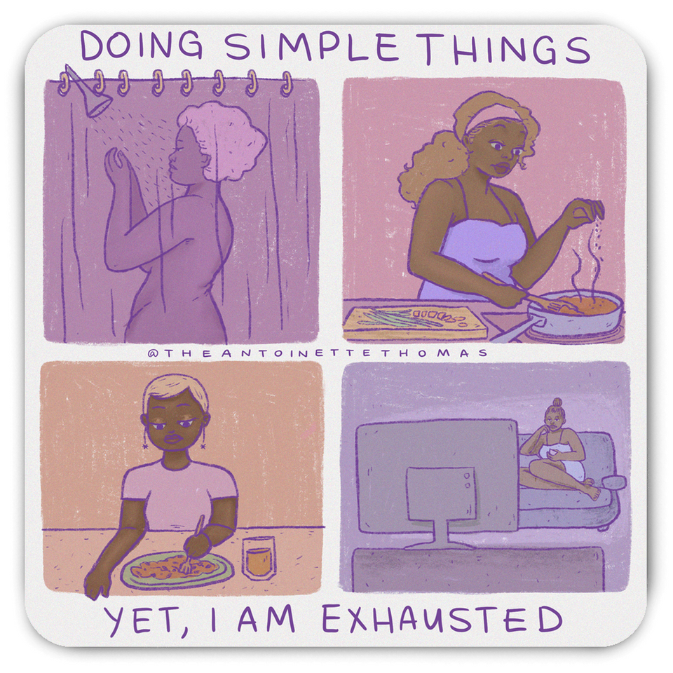 Doing Simple Things Magnet