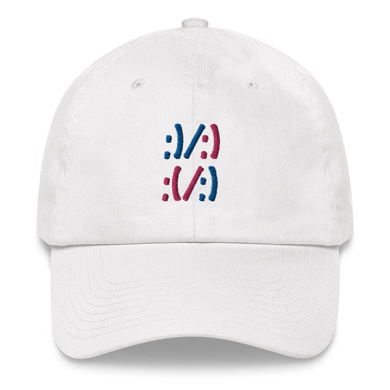 Sad/Happy Dad hat