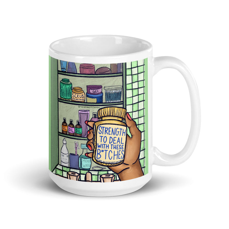 Strength To Deal Mug