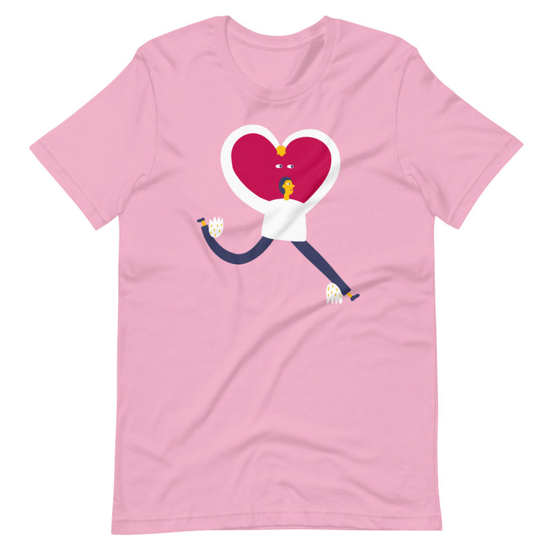 Running with Love Unisex T-Shirt