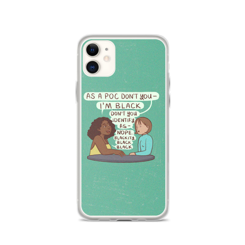 Not A POC iPhone Case