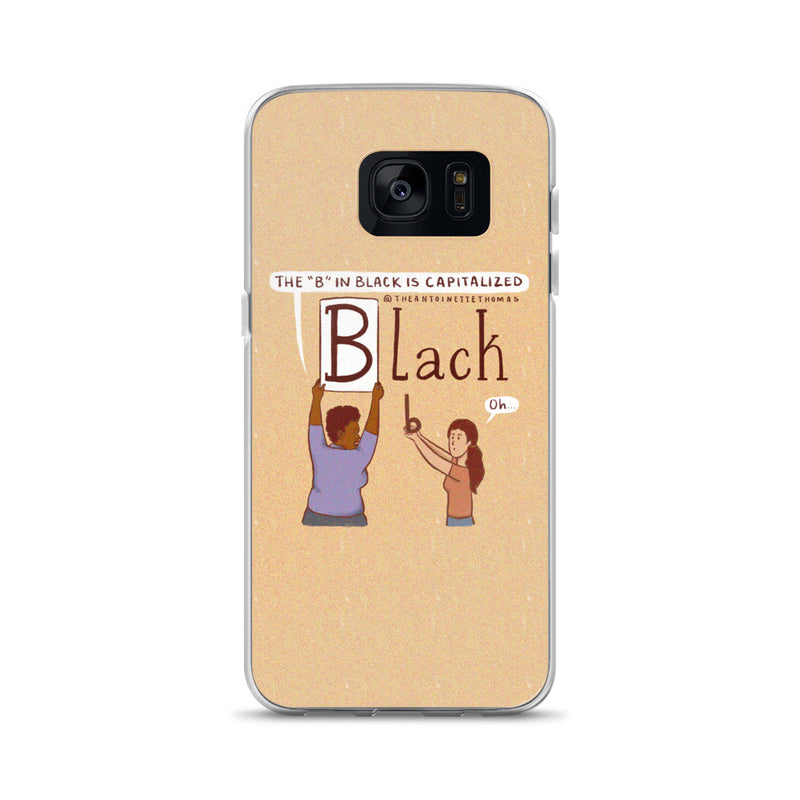 Capitalize The B Samsung Case