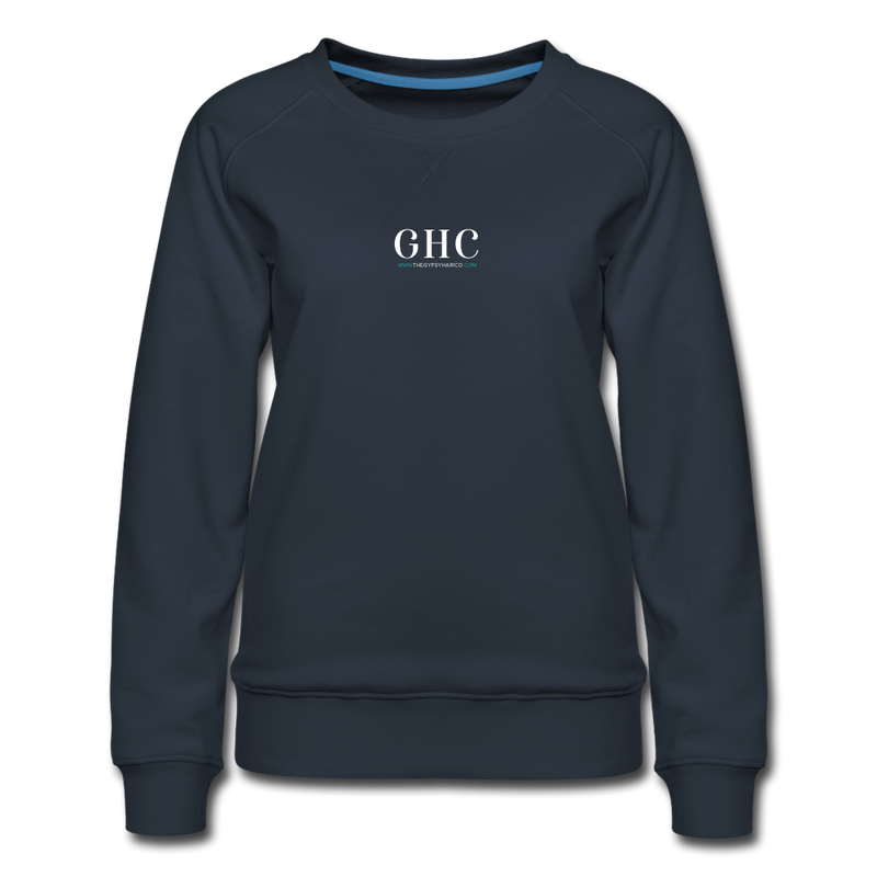 Women's Premium Sweatshirt - navy