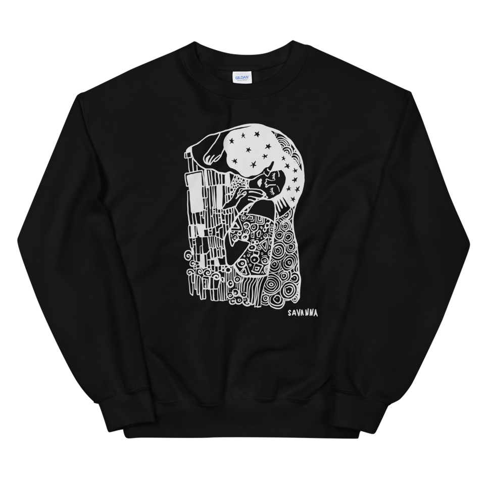 The Kiss reimagined sweatshirt