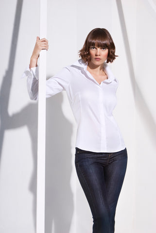 White Sea Island Cotton Shirt
