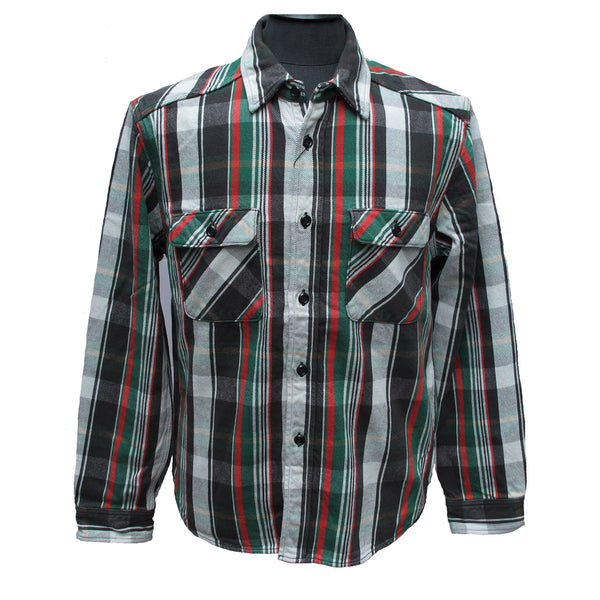 Jelado black flannel shirt
