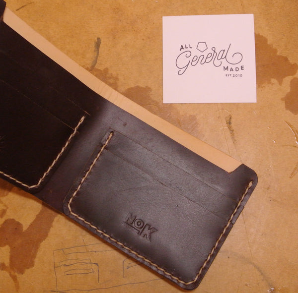 All General Made x NoKipple collaboration wallet