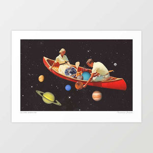 Big bang generation Art Print