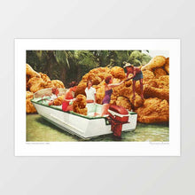 Load image into Gallery viewer, Fried chicken drive-thru Art Print