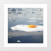 Load image into Gallery viewer, Egg-berg Art Print