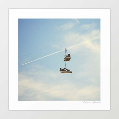 Hang'n there Art Print