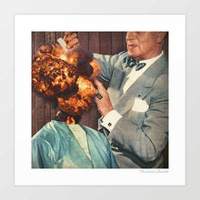 Load image into Gallery viewer, Magnifique bouffant Art Print
