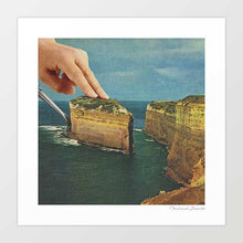 Load image into Gallery viewer, Serving up cake by the seaside Art Print