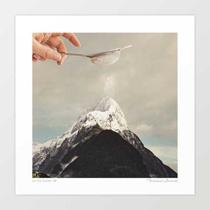 Sifted summit MP Art Print