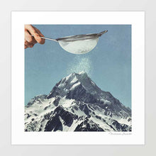 Load image into Gallery viewer, Sifted summit Art Print