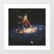 Load image into Gallery viewer, Space pool Art Print