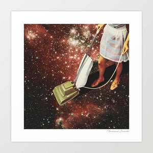 Star-dust Art Print