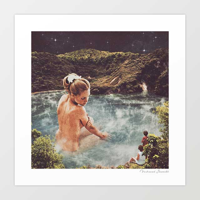 The Spa Art Print