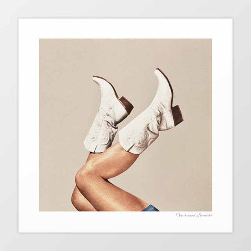 These Boots - Neutral Art Print