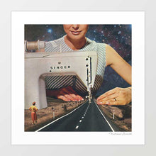 Load image into Gallery viewer, This is how a road gets made Art Print