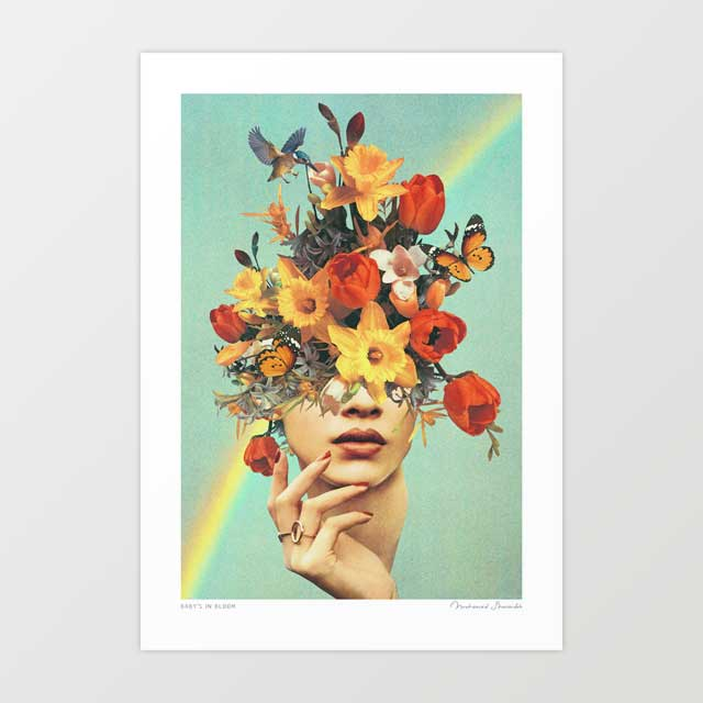 Baby's in bloom Art Print