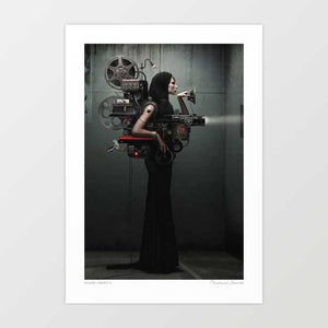 Madame Cinematic Art Print