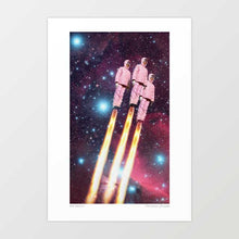 Load image into Gallery viewer, Pink rockets Art Print