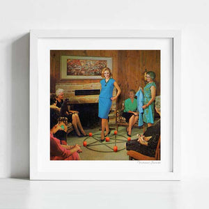 Aunt Sadie's fashion conscious group Art Print