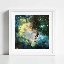 Load image into Gallery viewer, Cosmic surfer Art Print