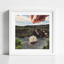Load image into Gallery viewer, Lake afternoon tea Art Print