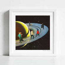Load image into Gallery viewer, Saturn's rink Art Print