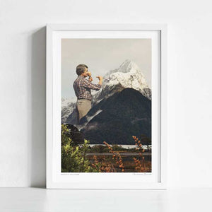 Majestic sculpture Art Print