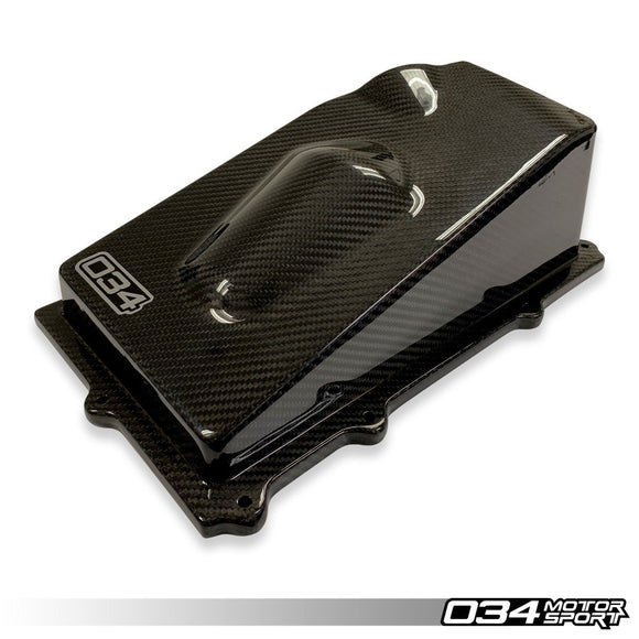 X34 CARBON FIBER CLOSED-TOP UPPER AIRBOX AUDI TT RS & RS3 2.5 TFSI EVO