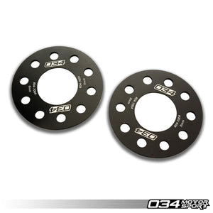 034 Motorsports 5x100 and 5x112 5MM Wheel Spacers